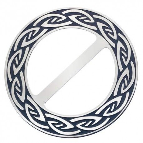 Sea Gems Celtic Knot Scarf Ring