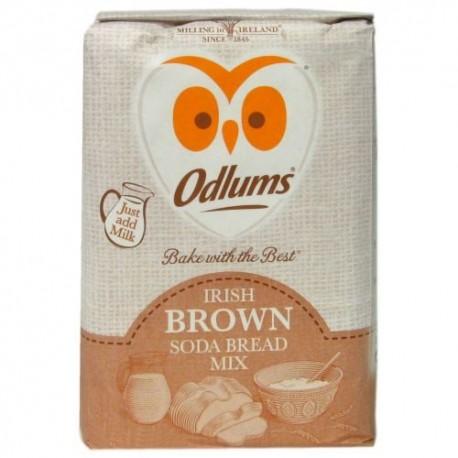 Odlums Irish Brown Bread Mix - 1Kg