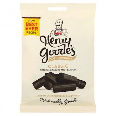 Henry Goode's Soft Liquorice - 140g