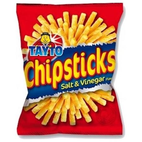 Tayto Salt and Vinegar Chipsticks - 35g