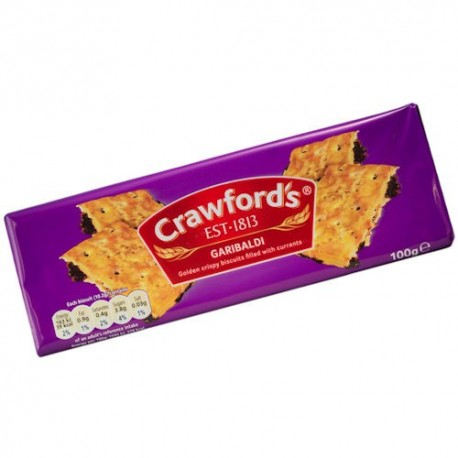 Crawfords Garibaldi Biscuits - 100g