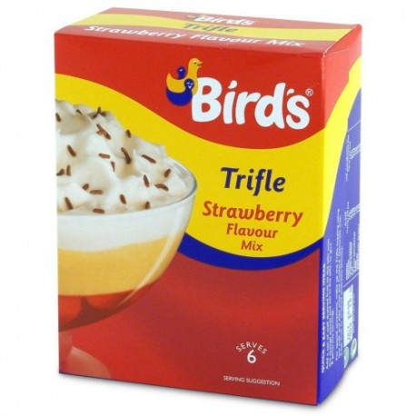 Bird's Strawberry Trifle Kit - 144g