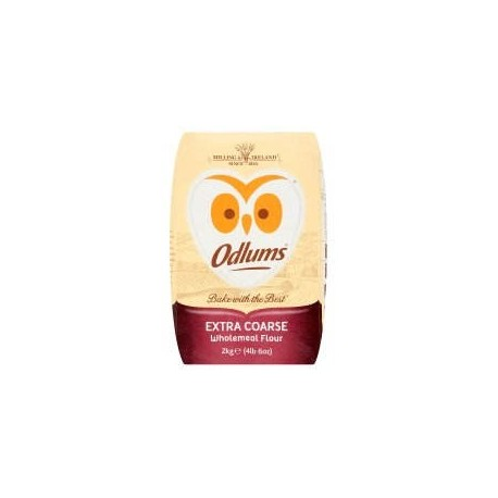 Odlums Wholemeal Extra Coarse - 2Kg