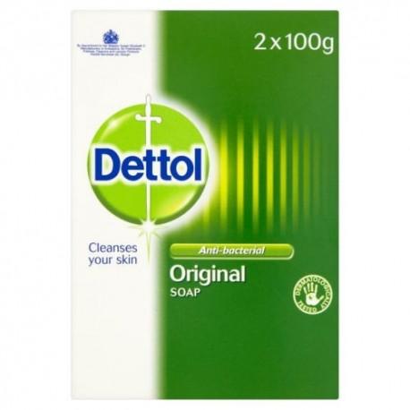 Dettol Antibacterial Soap - 2x100g