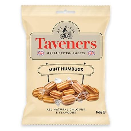 Taveners Mint Humbugs - 165g