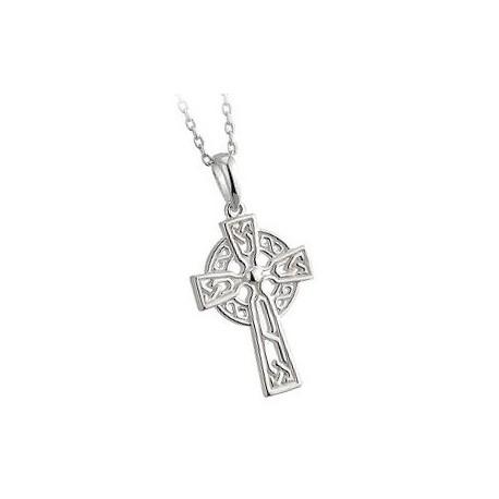 Solvar Celtic Cross Trinity Filigree Pendant