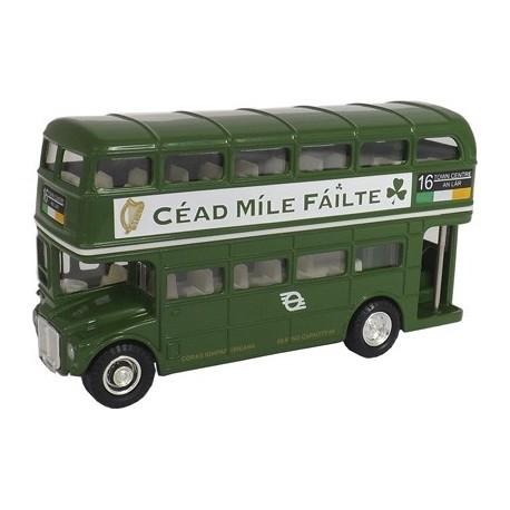 Diecast Irish Double Decker Bus