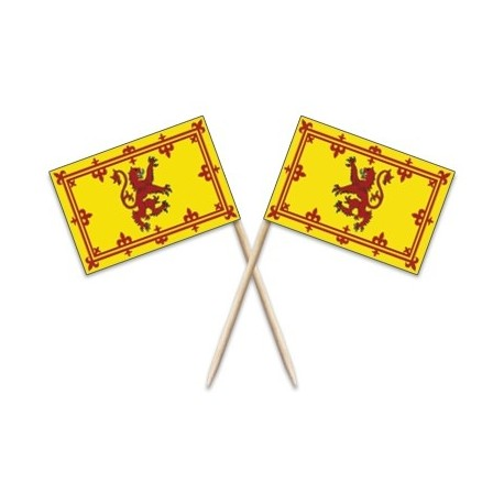 Scotland Lion Flag Toothpicks