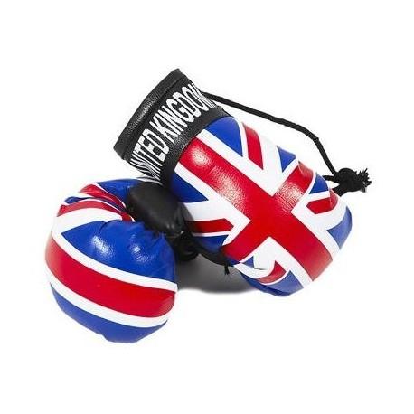 Union Jack Boxing Gloves Dangle