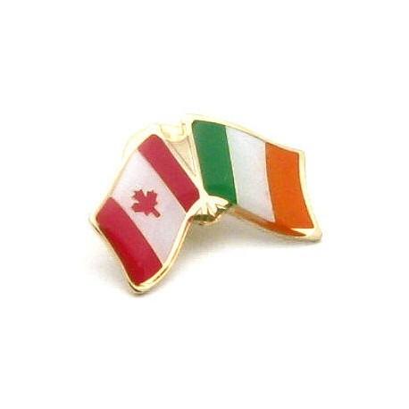 Ireland-Canada Friendship Pin Badge