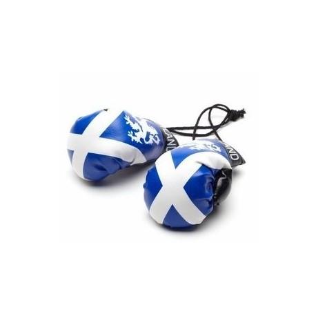 Scotland Boxing Gloves Dangle