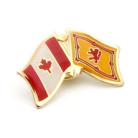 Scotland Lion-Canada Friendship Pin Badge