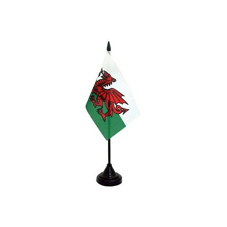 Wales Flag: 4x6 Table Top