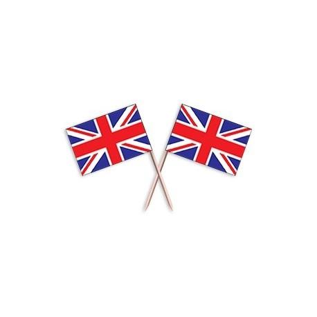 Union Jack Flag Toothpicks