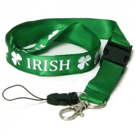 Irish Shamrock Lanyard