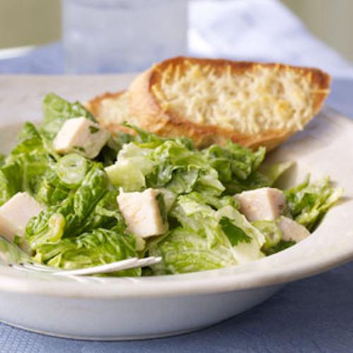 turkey romaine salad