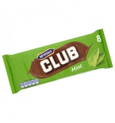 McVitie's Club Mint Biscuits - 8 Pack
