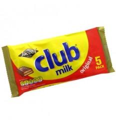Jacob's Club Milk Biscuits - 5 Pack