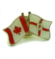 Northern Ireland-Canada Friendship Pin