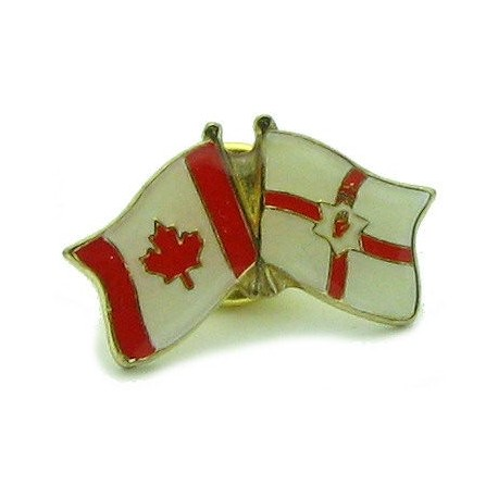 Northern Ireland-Canada Friendship Pin