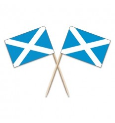 Scotland Cross Flag Toothpicks