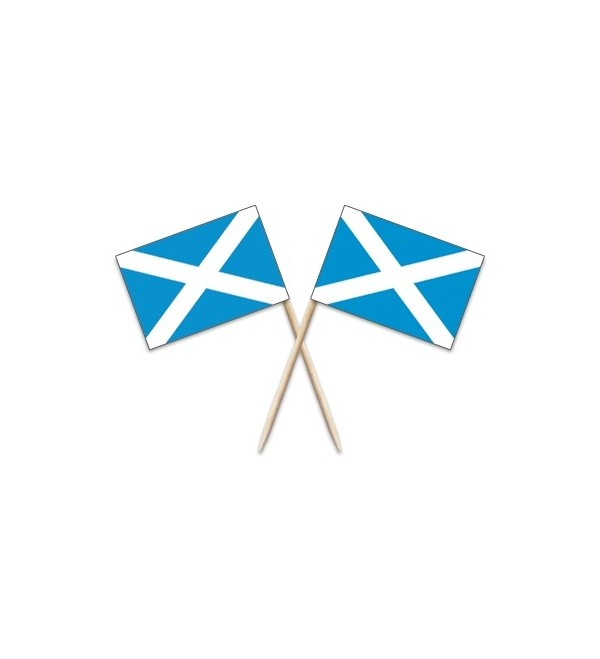 Scotland Cross Flag Toothpicks