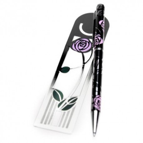 Sea Gems Rennie Mackintosh Pen & Bookmark Gift Set