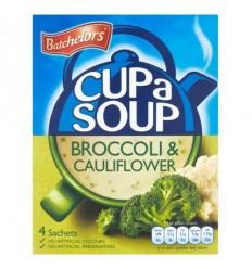 Batchelors Broccoli & Cauliflower Cup a Soup - 4 Pack