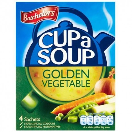 Batchelors Golden Vegetable Cup a Soup