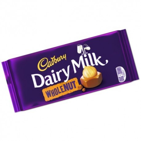 Cadbury Dairy Milk Whole Nut - 200g