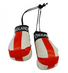 England Boxing Gloves Dangle