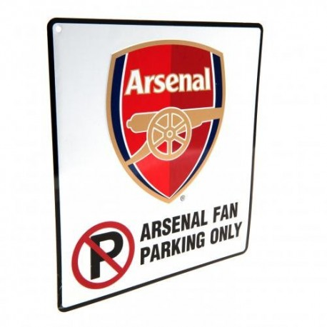 Arsenal FC No Parking Sign