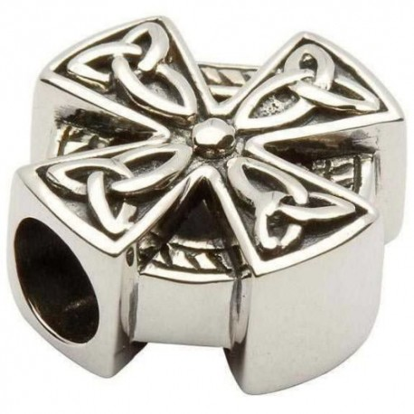 Shanore Celtic Cross Silver Charm