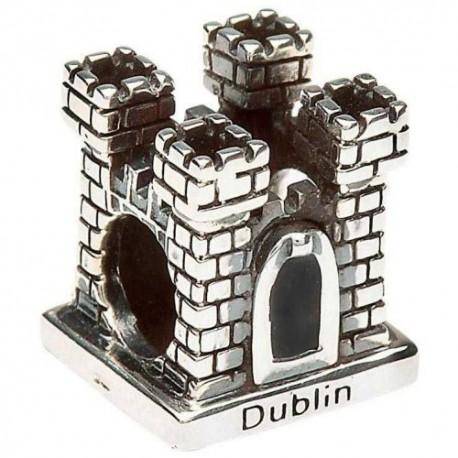 Shanore Dublin Castle Silver Charm