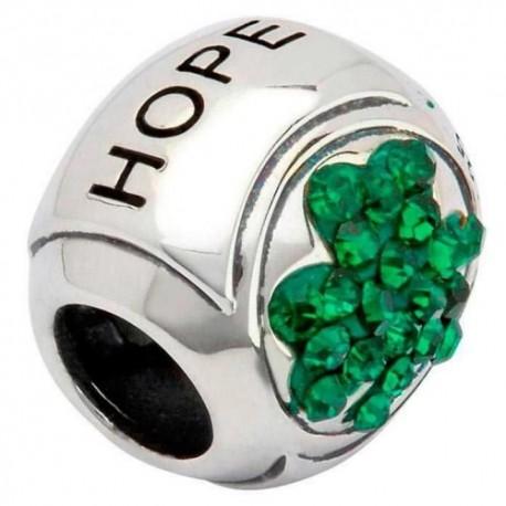 Shanore Shamrock Hope Silver Charm
