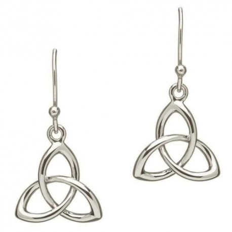 Shanore Trinity Knot Drop Earrings