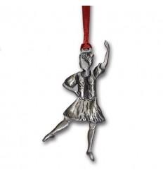 Pewter Highland Dancer Ornament