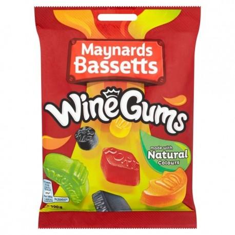 Maynards Bassetts Wine Gums - 190g