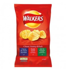Walkers Classic Variety Crisps 6 Pack