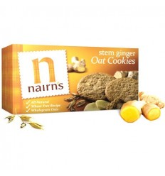 Nairn's Stem Ginger Oat Cookies - 200g