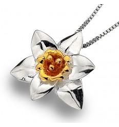 Sea Gem Wales Daffodil Pendant