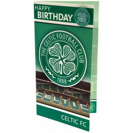 Glasgow Celtic FC Birthday Card
