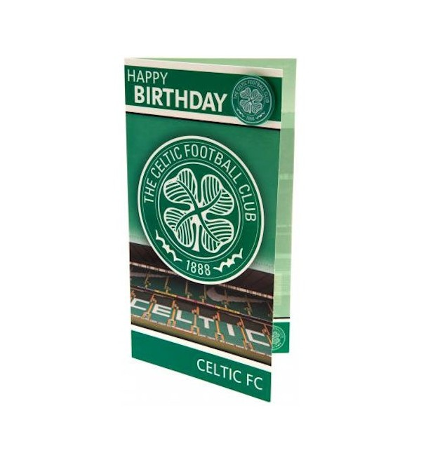 Glasgow Celtic FC Birthday Card A Bit of Home Canada