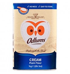 Odlums Cream Plain Flour - 2Kg