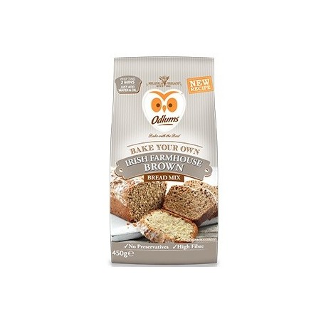 Odlums Farmhouse Quick Brown Bread - 450g