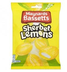 Maynards Bassetts Sherbet Lemons - 192g