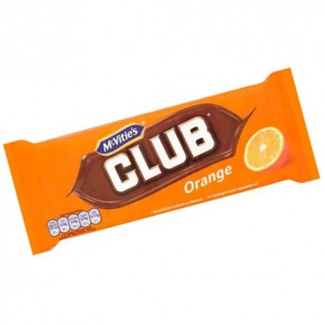 McVitie's Club Orange Biscuits - 6 Pack