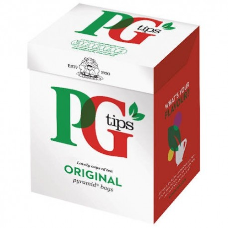 PG Tips Original Pyramid Tea Bags - 80