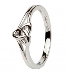 Shanore Trinity Knot Silver Ring