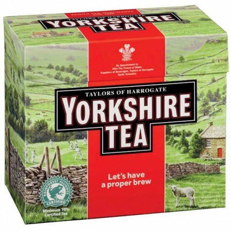 Yorkshire Red Tea Bags - 40
